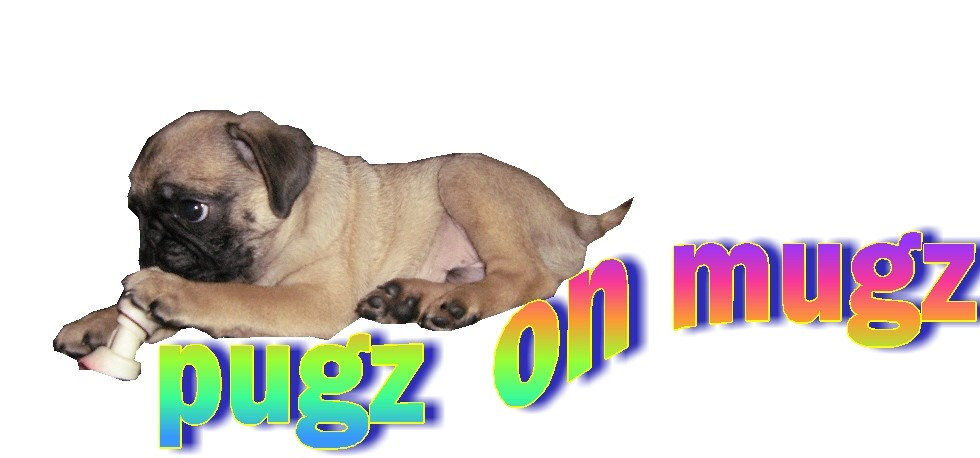 There are pugz on these mugz !