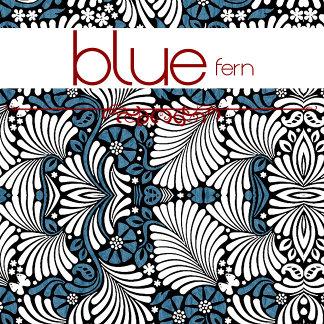 Fern, Blue