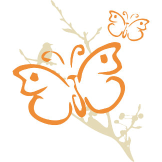 Butterfly Yoga T-Shirt Gifts Cards