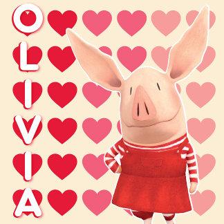 Olivia - Heart Background