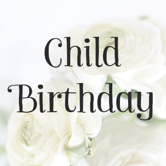 Child Birthday Invitations