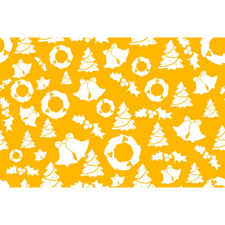 Yellow Christmas Pattern