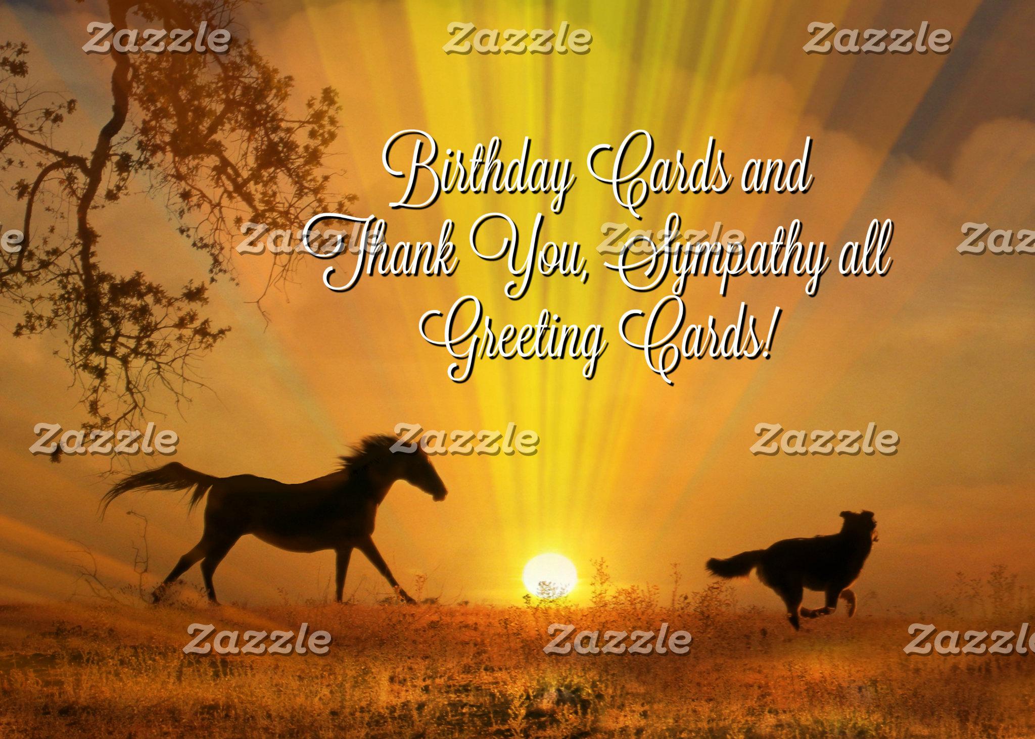 Cards, Bday, Thank You, Sympathy ...