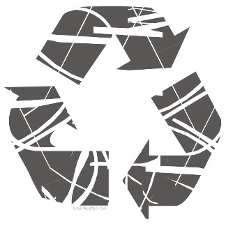 Recycle Sign - Gray
