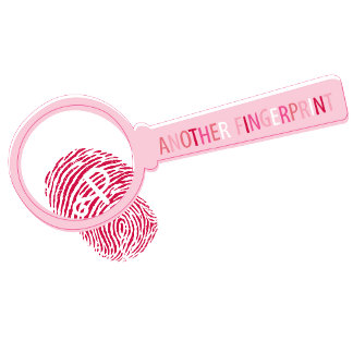 Magnify Glass with Fingerprint