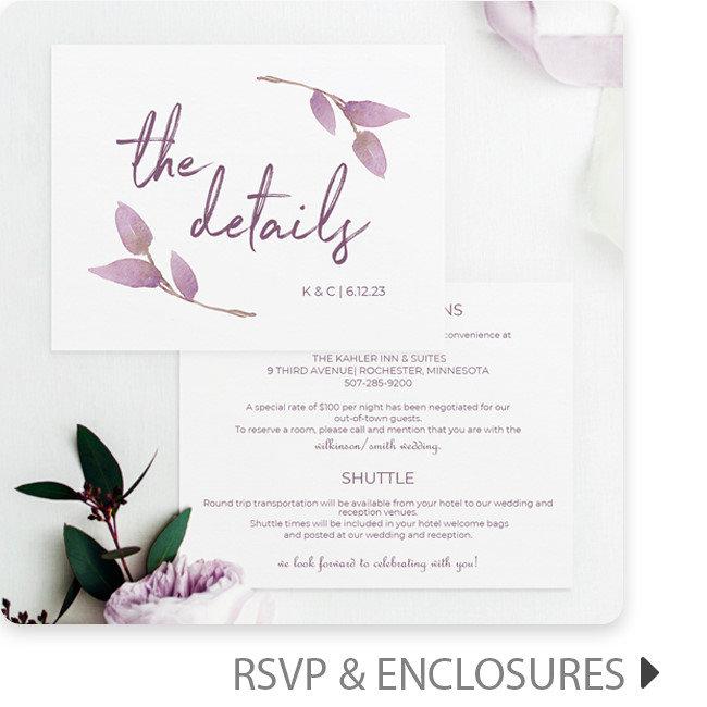 Enclosure / Info Cards