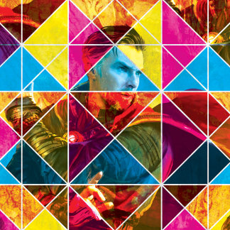 Doctor Strange Geometric Colorful Pattern