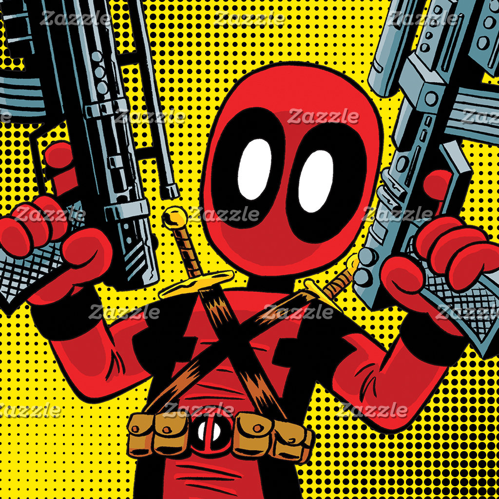 Mini Deadpool With Guns