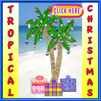 Beach Christmas Cards and Gifts