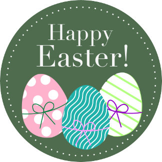 Happy Easter - Green