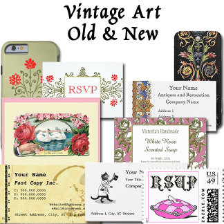 Vintage Art Old and New