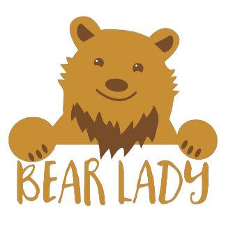 bear lady cute