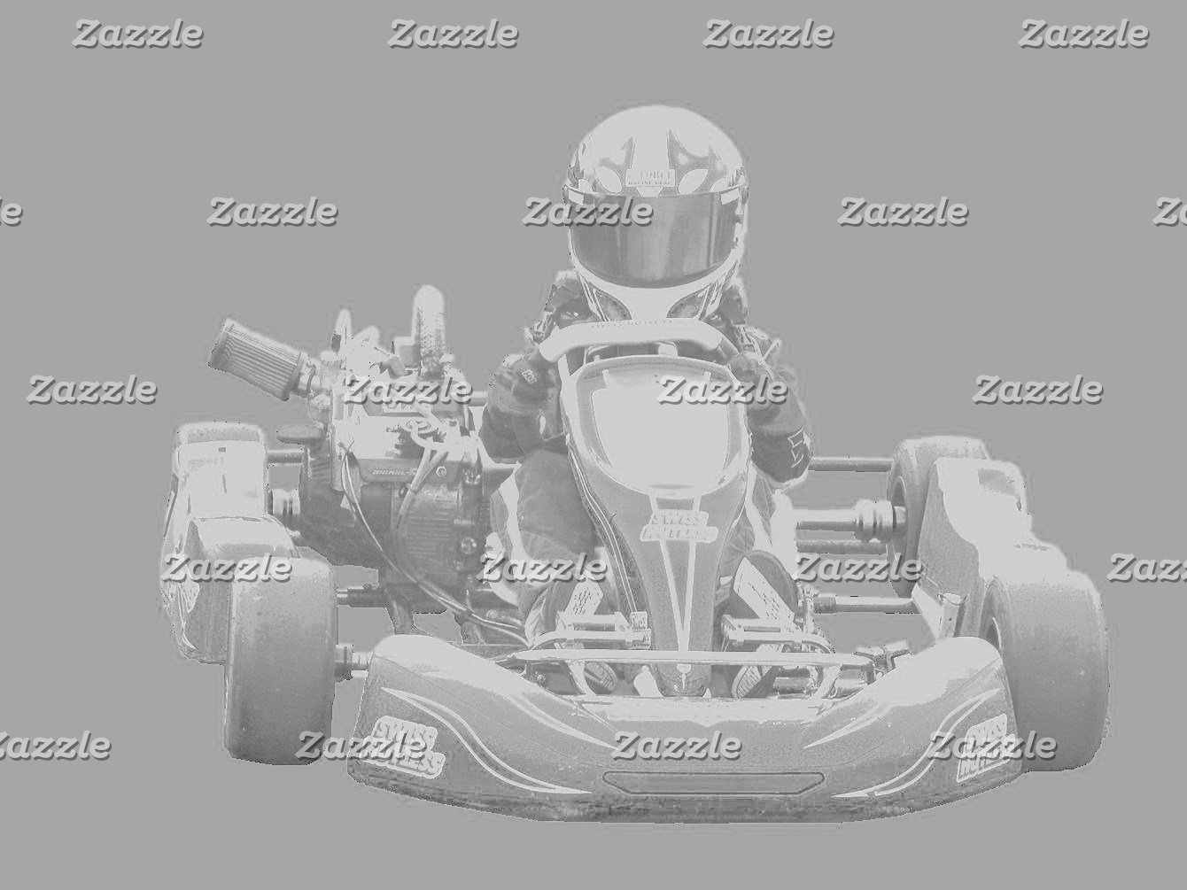 Kart Racer in gray