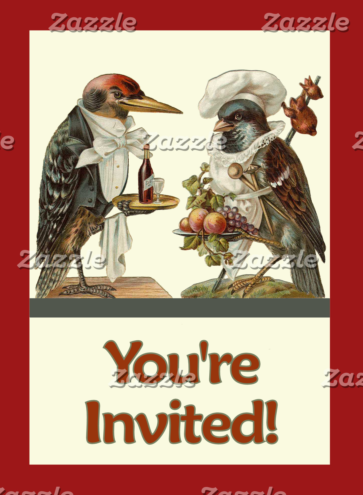 Invitations Cards Stamps