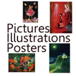 絵画ポスターPictures・Illustrations・Posters