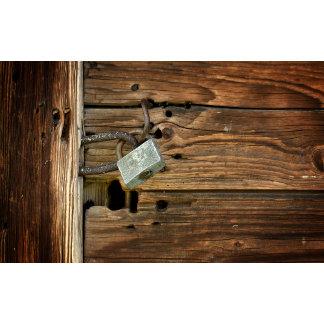 Aged Door Lock