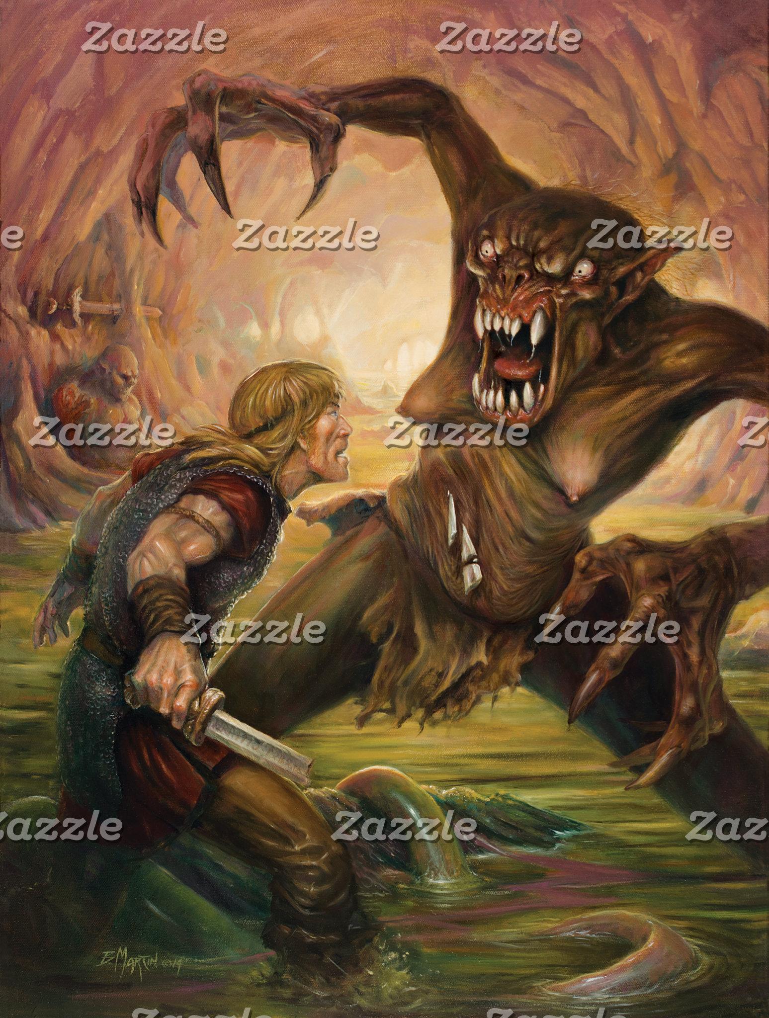 Beowulf's Battle