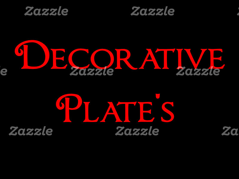 DECORATIVE PLATE'S