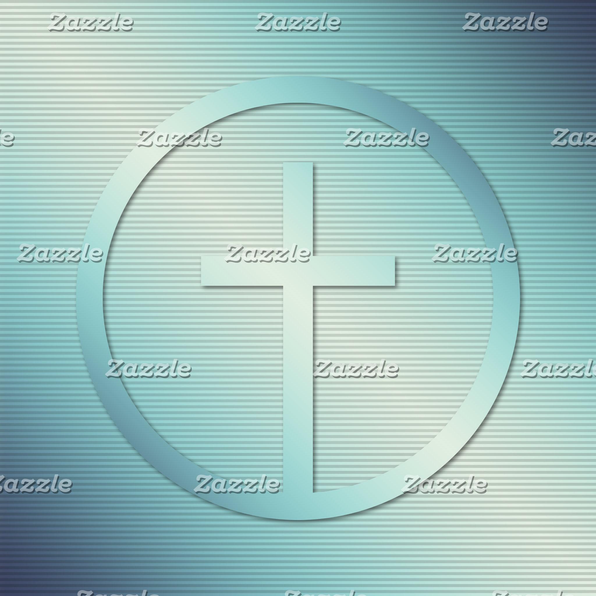 Retro Cross Emblem Graphic