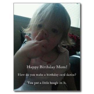 Happy Birthday Dancer Mom