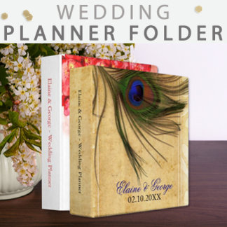 Wedding Planner and Organizer Binder