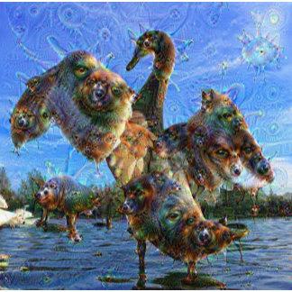 DeepDream Creatures