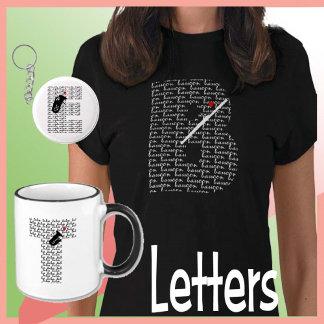 Letter/heart/Instruments