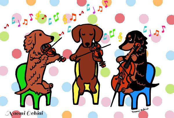 Dachshund String Trio