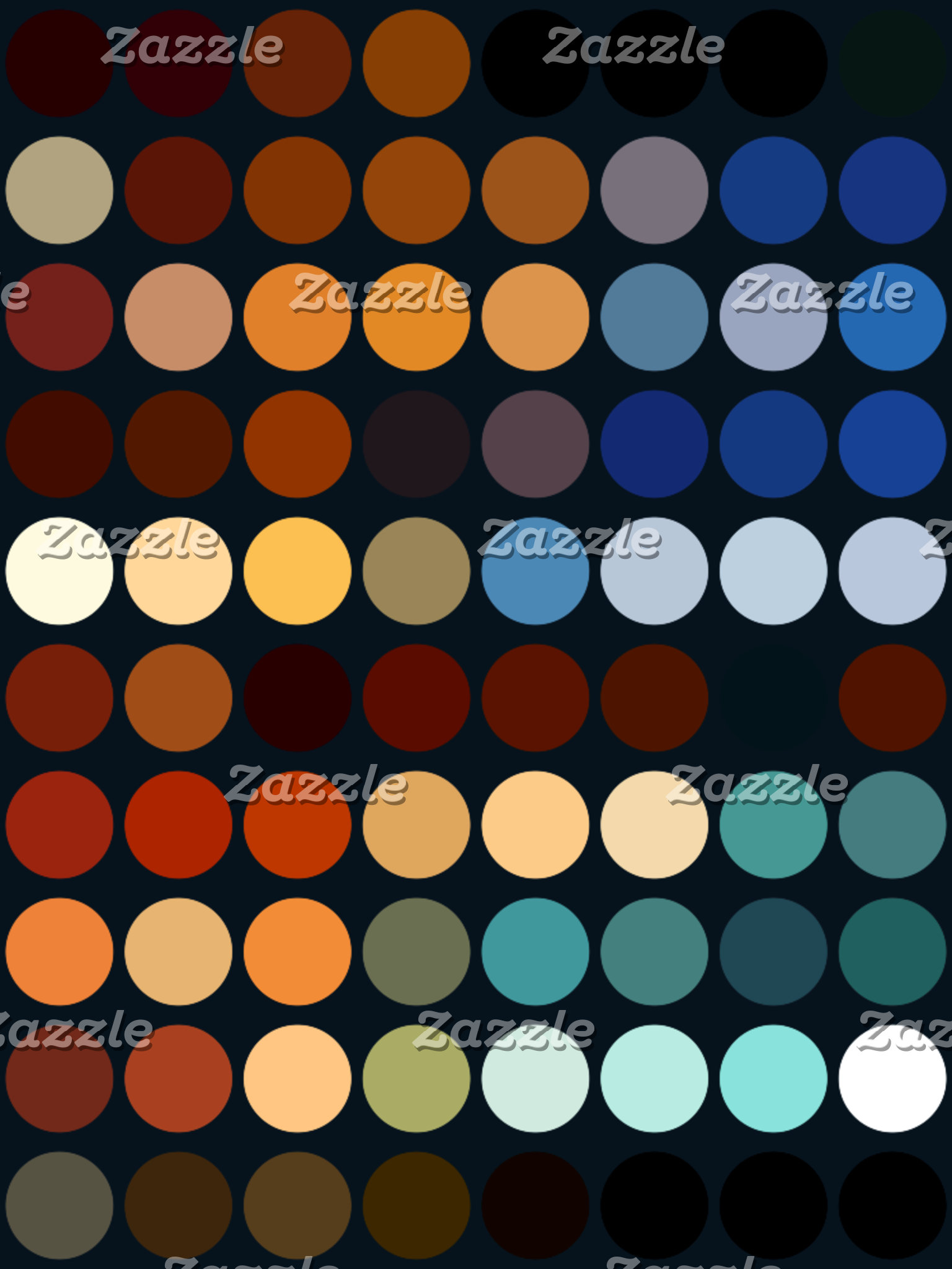 Geometric Patterns | Multicolor Circles II