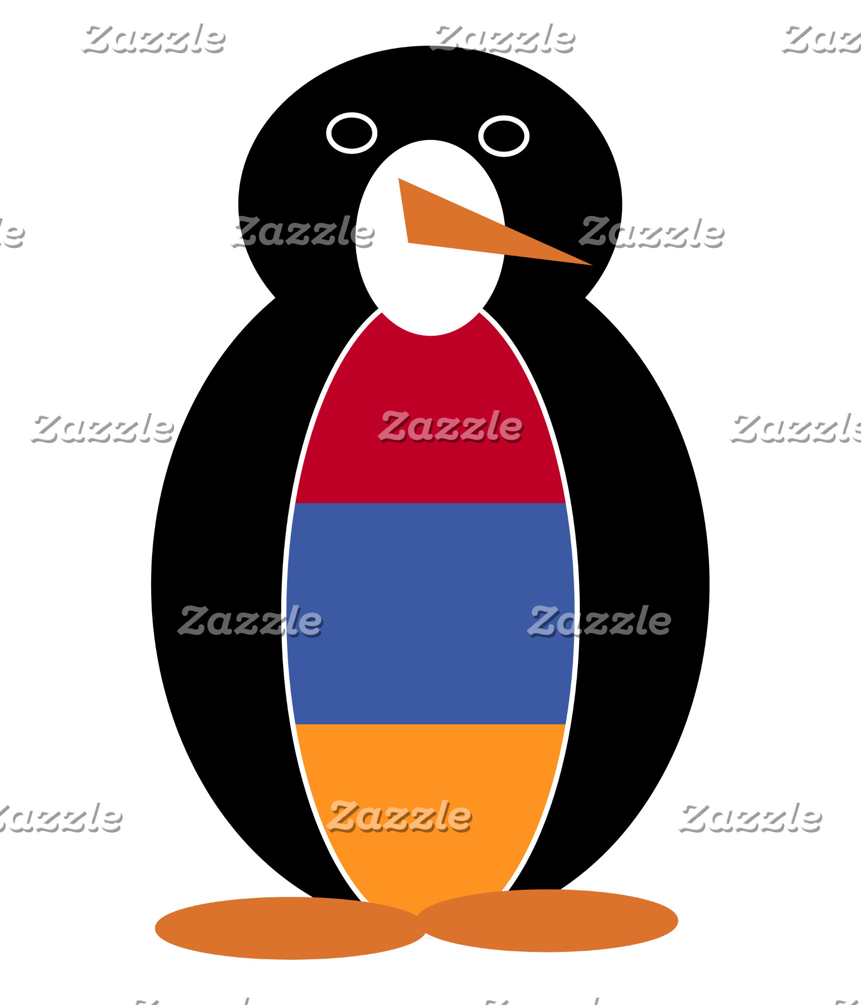 Armenian Holiday Mr. Penguin