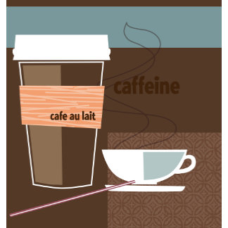 """Caffeine Poster Print"""