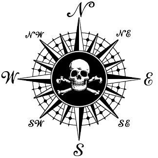 Compass Skull
