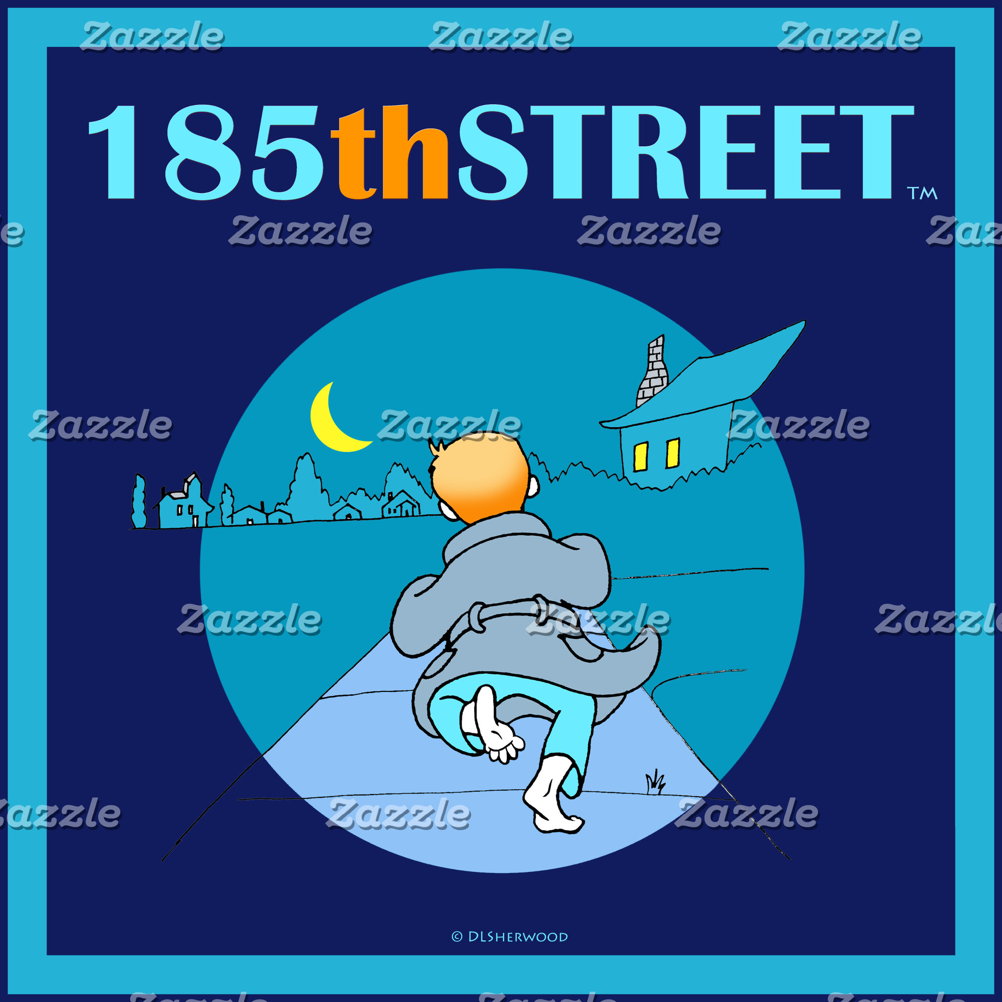 185thSTREET Logo Merch