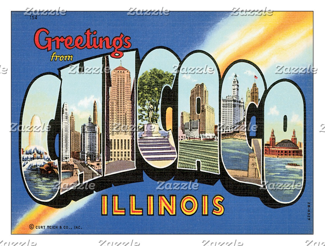 US Cities Postcards