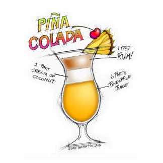 ac. PINA COLADA RECIPE COCKTAIL ART