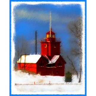 Big Red Lighthouse, Holland, MI