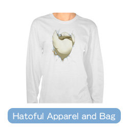 Hatoful Apparel and Bag
