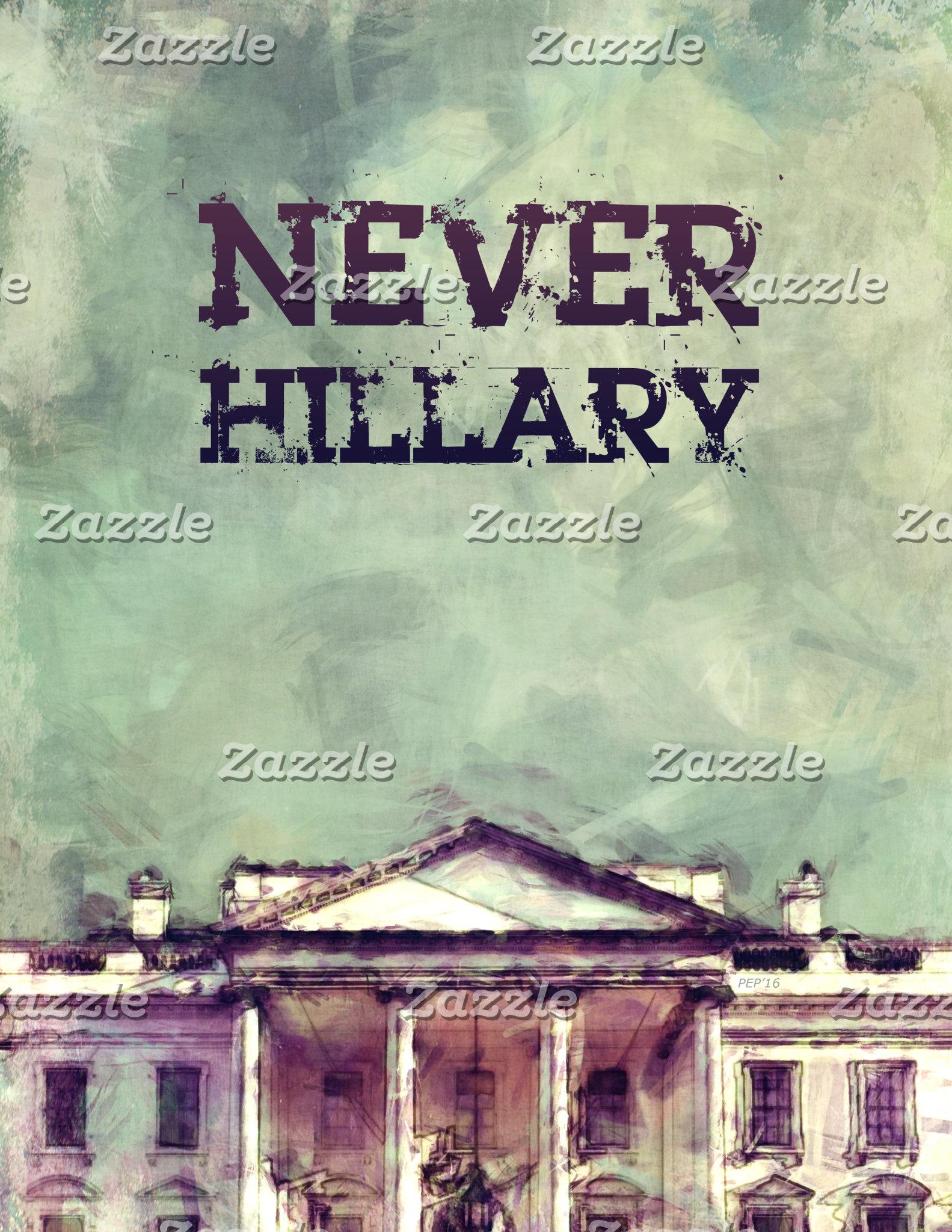 Never Hillary Clinton