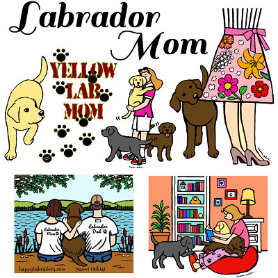 Labrador Mom (Family)