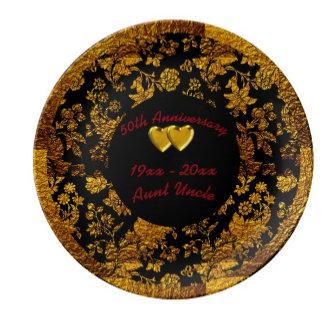 anniversary plates
