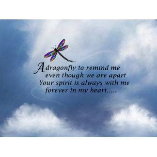 Dragonfly Memorial Poem
