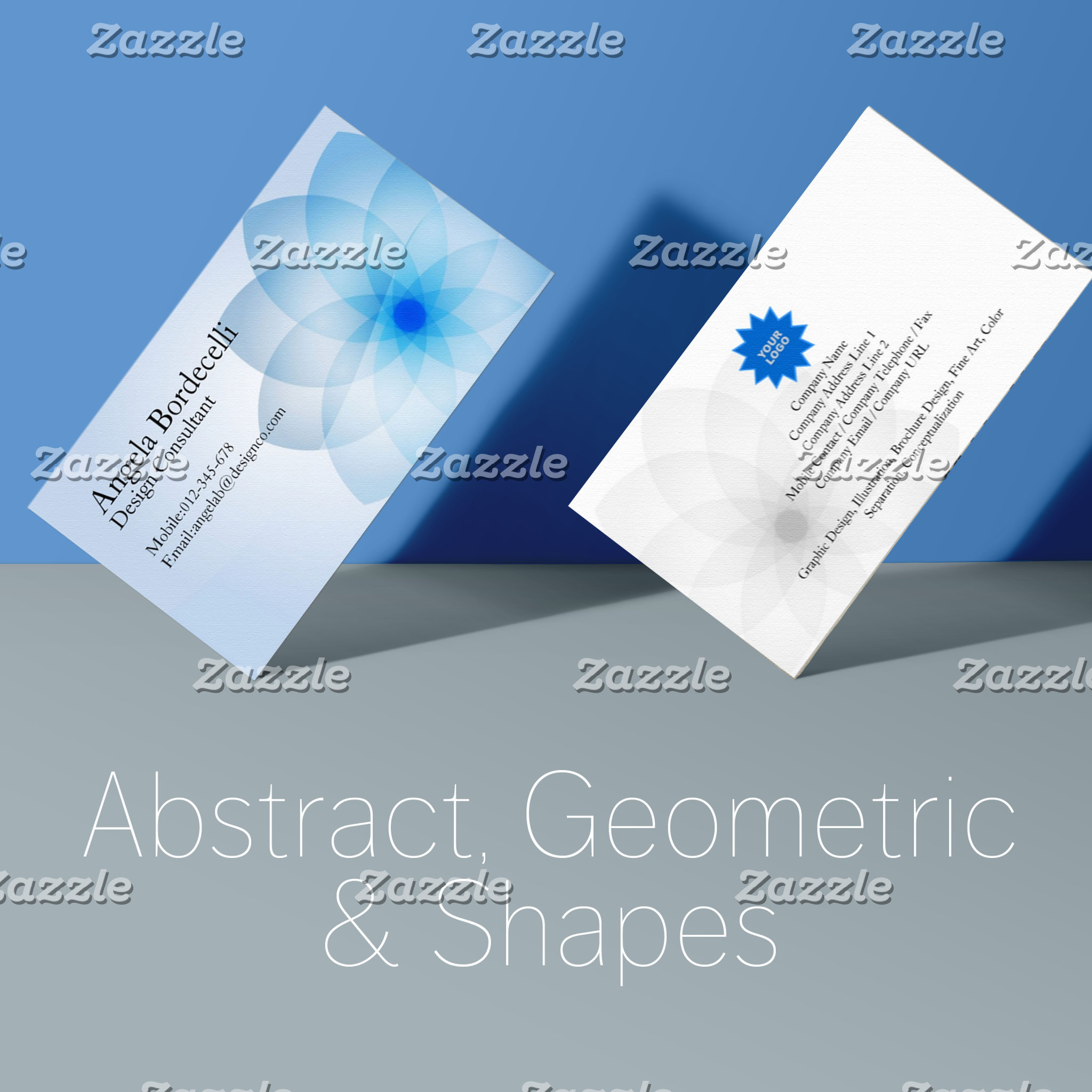 Abstract, Geometric and Shapes