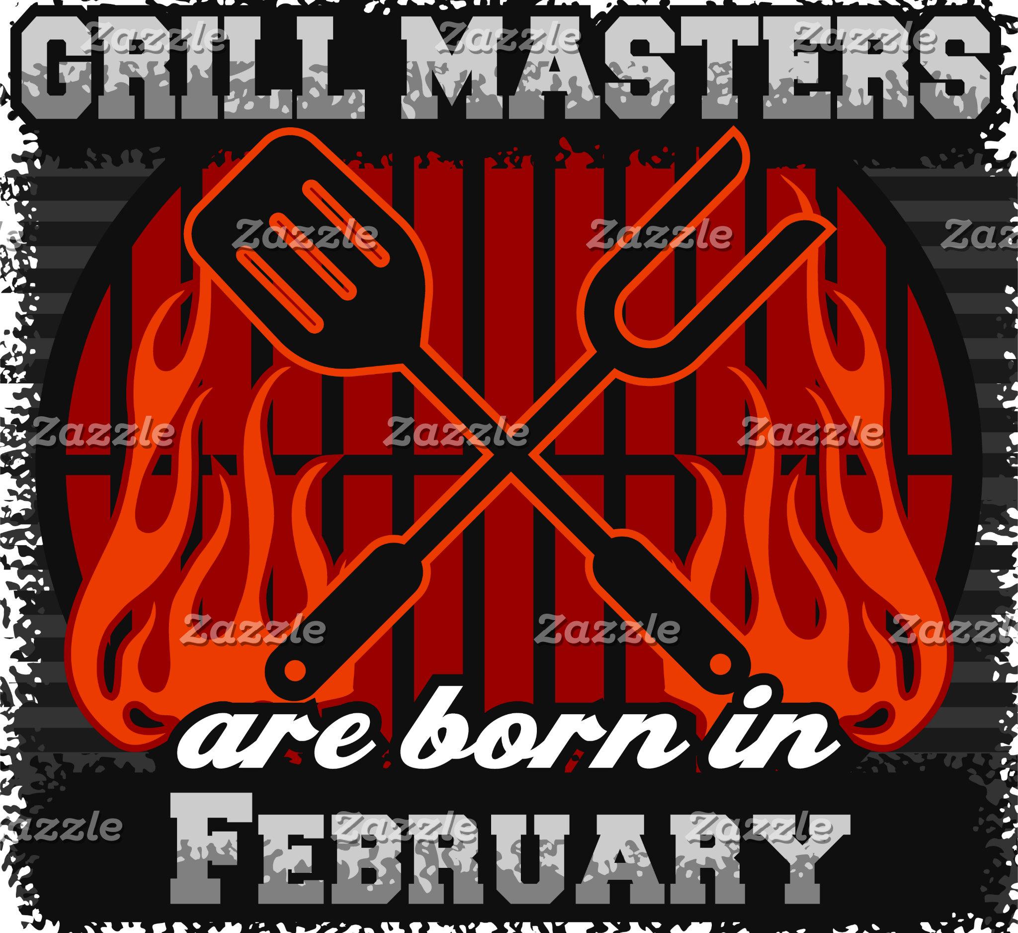 February - Grill Masters Are Born In