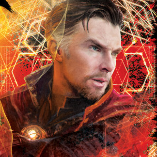 Doctor Strange Worn Mystical Graphic