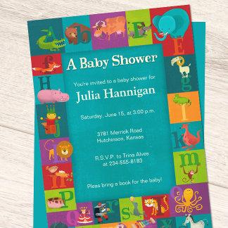 ABCs & Animals Baby Shower Suite