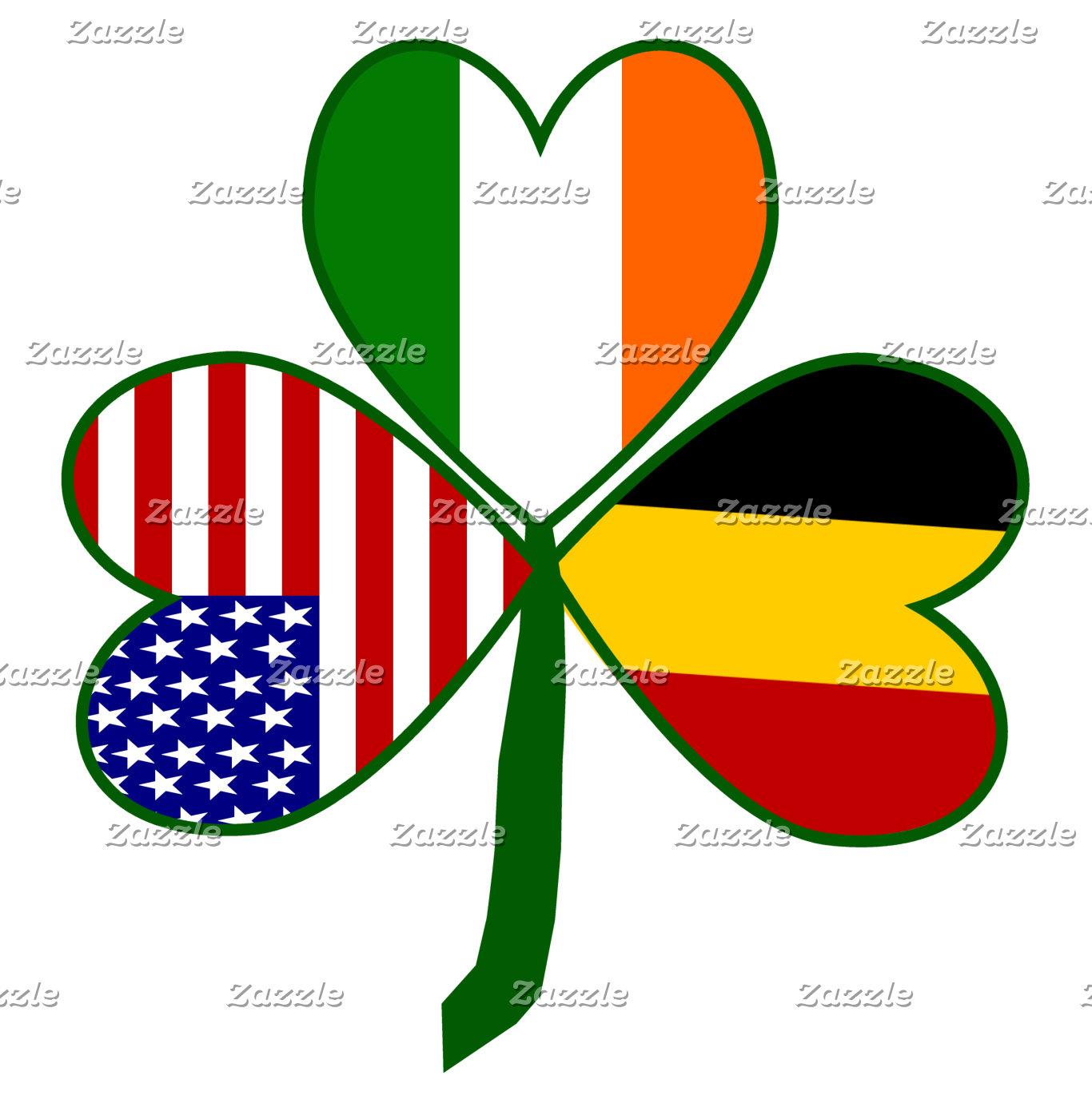 Belgium Shamrock Flag