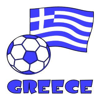 Soccer Greek Flag