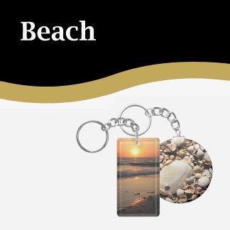 Beach Keychains