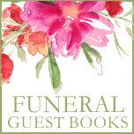 Memorial Funeral Guest Books