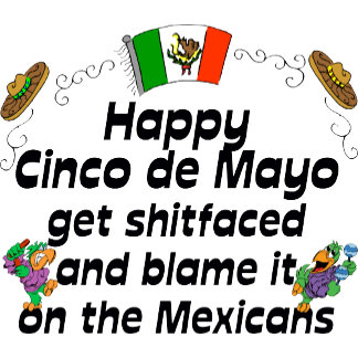 Funny Cinco de Mayo T Shirt Cards Gifts